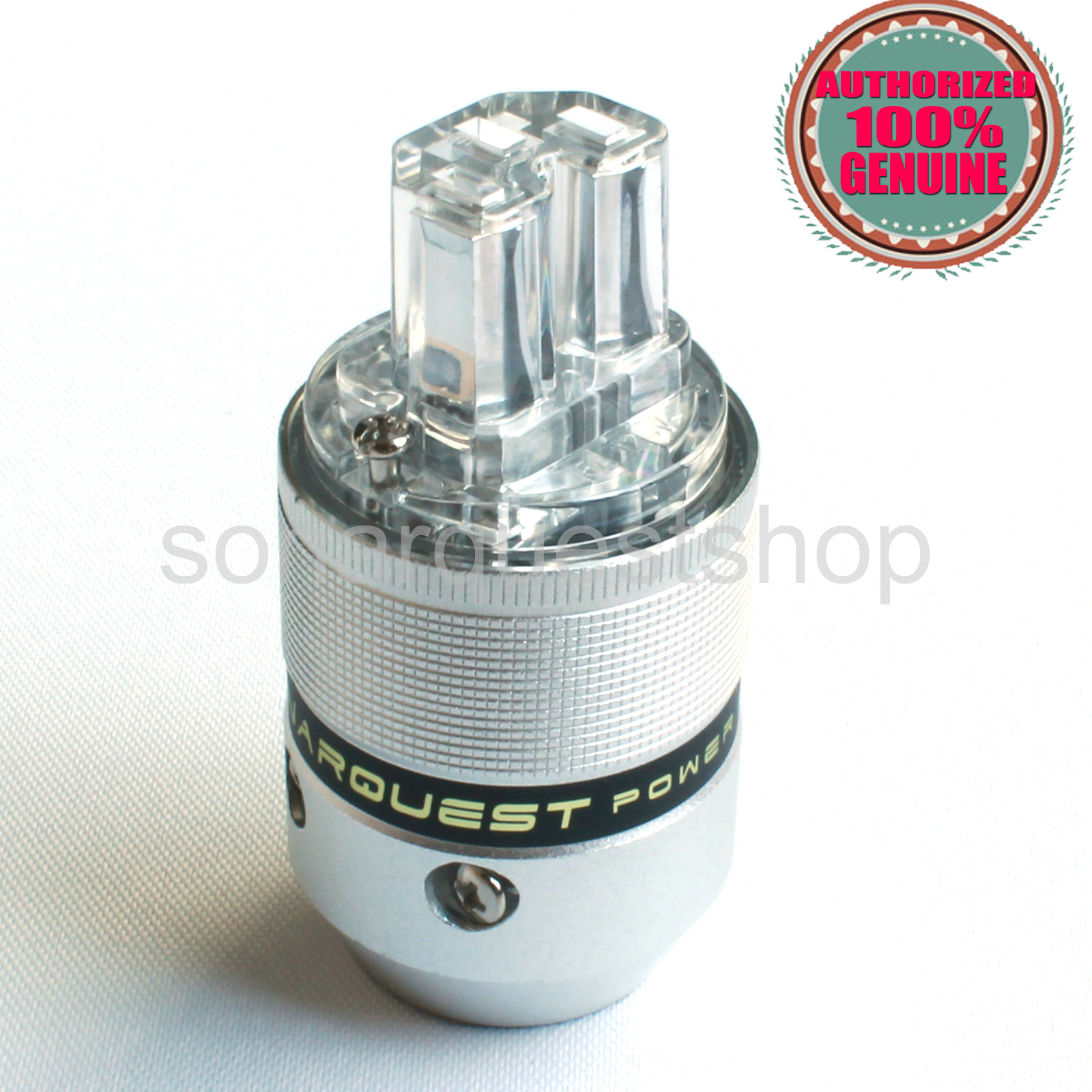 SONARQUEST C25 R(T) Rhodium Plated UT Aluminum alloy IEC Connector